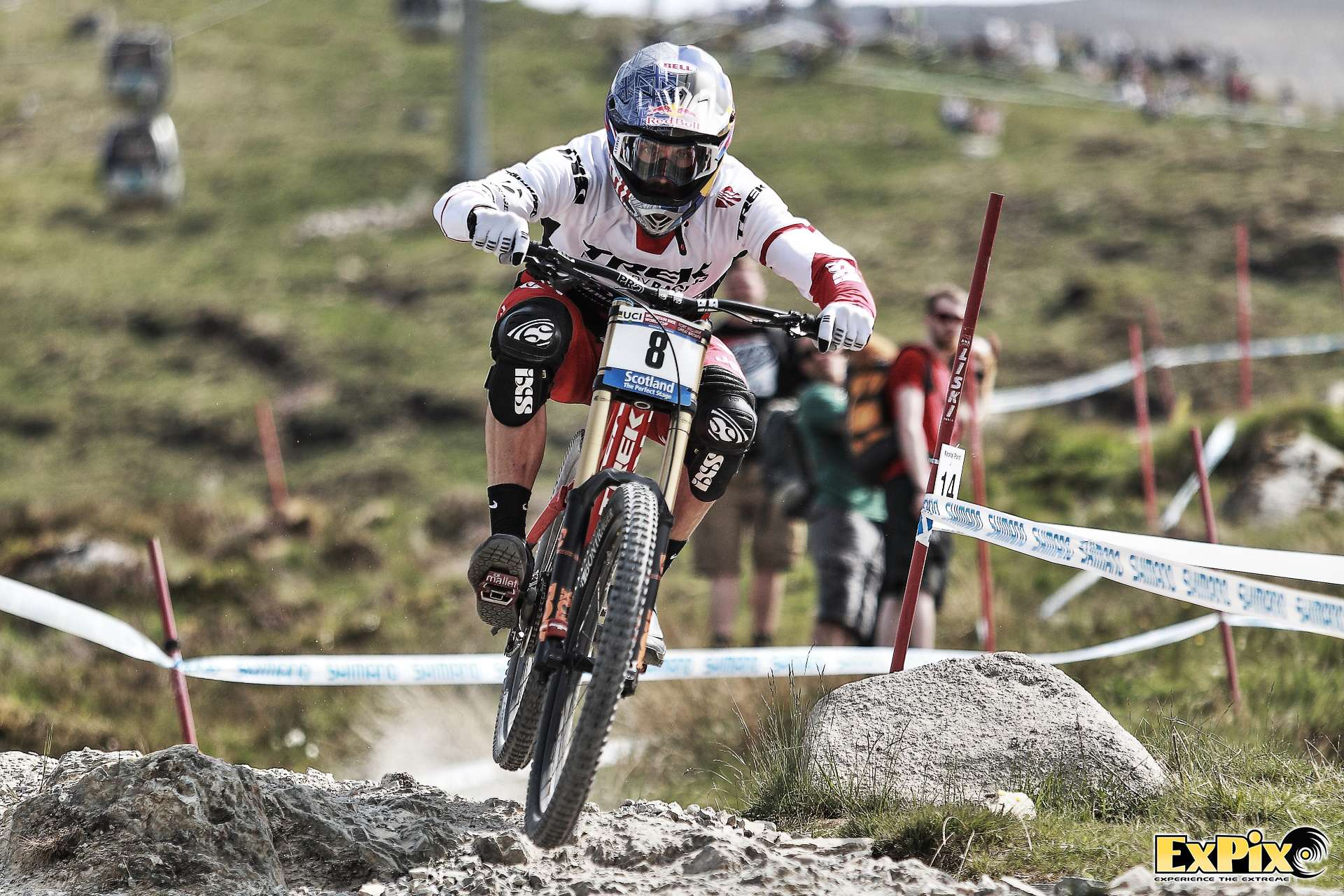 Gee Atherton Fort William 2016 UCI Downhill Championships