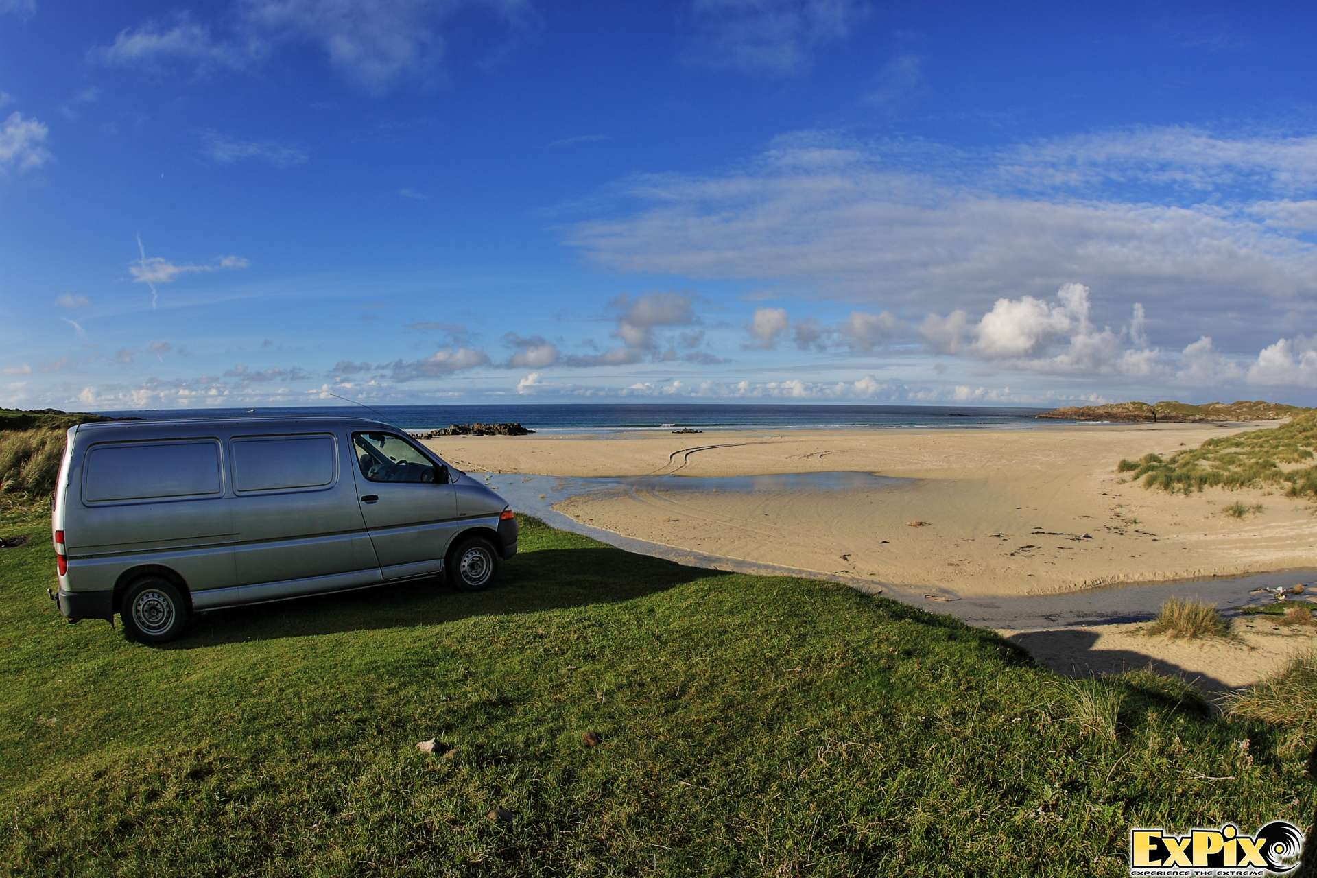 ExPix Van at Balephuil, Tiree